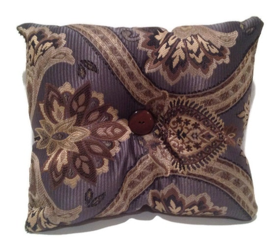 Blue and gold decorative throw pillow home decor for Blue and gold pillows