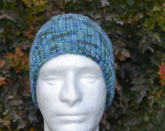 Men's Knit Beanie. Boy's Knit Beanie, Men's Winter Hat. Winter Hat.