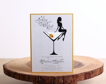 Bachelorette Party Invitation - look 4