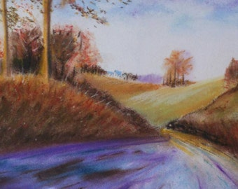 Country Morning - ORIGIONAL pastel peice