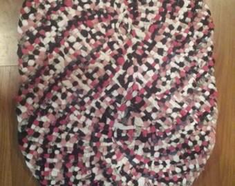 21x30 Inches Amish Rug Braid Rug. Small Cute Rug