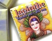 Spring Hyacinth Soap - Jacinthe spring goat's milk soap by Succulent Bath and Body