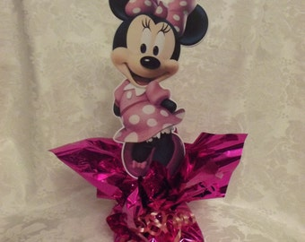 Mini Pink Dress Minnie Mouse Centerpiece #3 Style