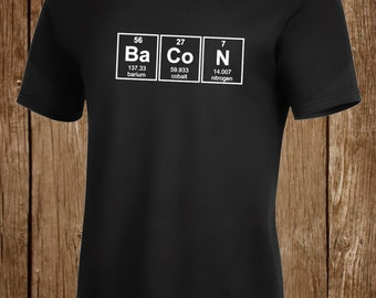 Bacon Element Chemistry Shirt