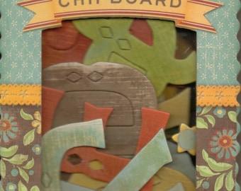 K & Company WILD SAFFRON Chipboard
