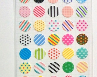 Hole Reinforcement stickers(for a ring binder,a loose-leaf note book)