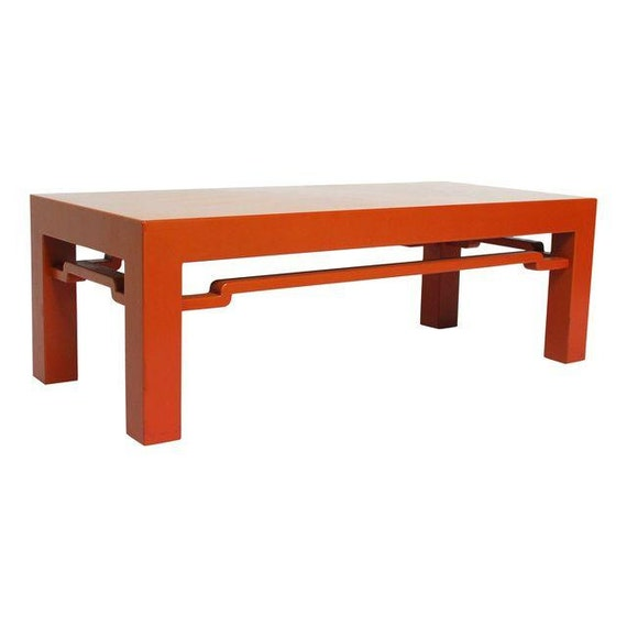 Moderne Chinese Ming Style Coffee Table Bench