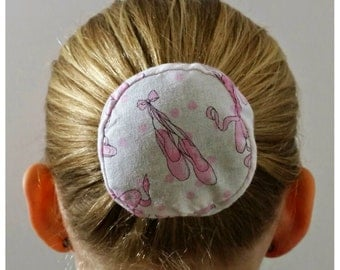 Ballet Slipper Hair Bun Cover Bundazzle
