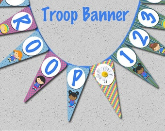 Troop Banner - Print Your Own!