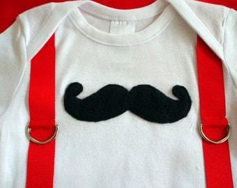 Moustache Onesie