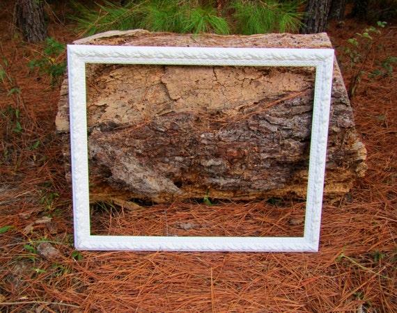 large white wood picture frame photo prop wedding. Black Bedroom Furniture Sets. Home Design Ideas