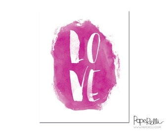 "Love Print -  8x10"" - Digital File"