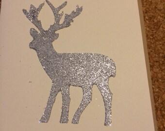 A silver deer