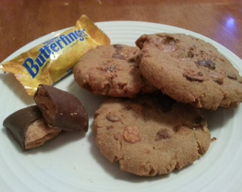 Butterfinger Cookies 1 dozen Gourmet melt in your mouth