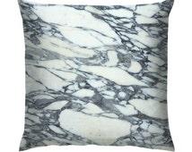 "Marble Texture Cushion/Pillow 18"""