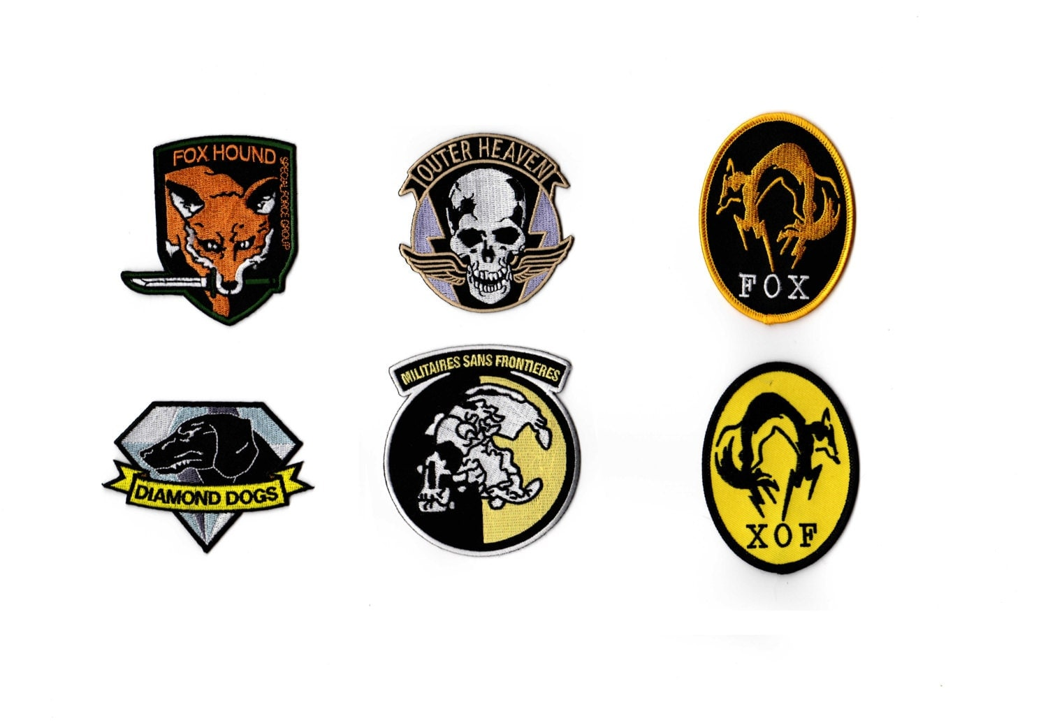 Patches Xof Diamond Dogs