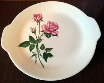 Vintage Royal China Inc. Tea Rose Large Round Serving Platter