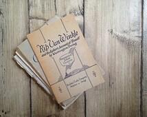 Vintage Rip Van Winkle Booklet | Progressive School Classics Story | 1914 | Beckley-Cardy Company | Washington Irving