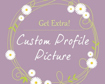 Custom profile picture for premade WordPress template