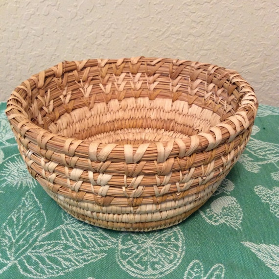 How To Hand Weave A Basket : Large hand woven basket by montanasuz on etsy