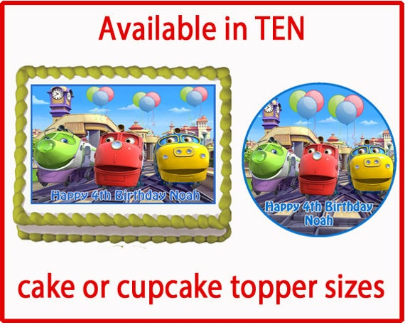 Chuggington Cakes Toppers