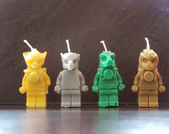 8 x Lego Chima candles