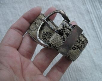 Snakeskin Buckle Bracelet -- VT160