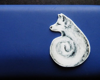 fox - brooch