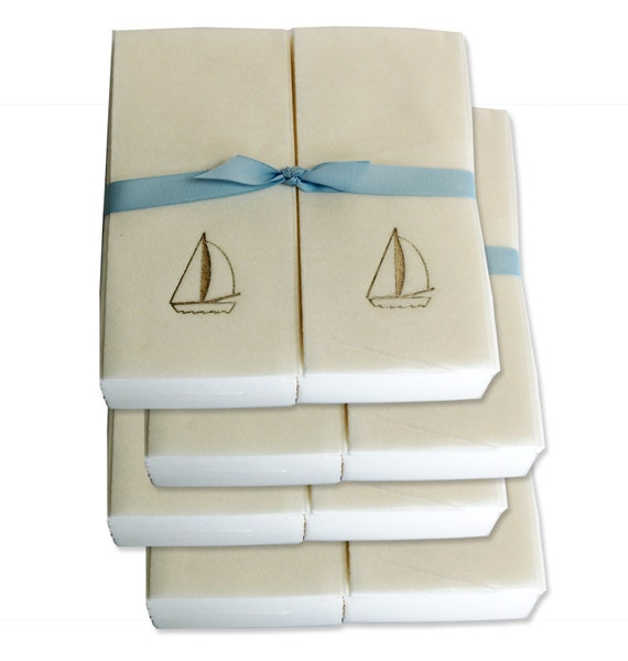 Nature 39 S Linen Disposable Guest Hand Towels Wrapped By Newhopesoap
