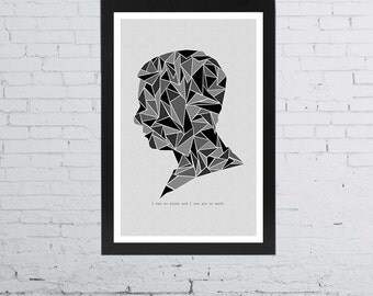 John Watson Minimalist Poster - Sherlock BBC | 11 x 17 Inches