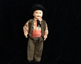 Vintage cowboy doll