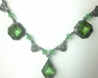 Vintage necklace, feminine