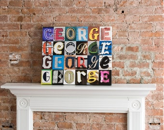 Signyourname by signyournames on etsy for Living room 7 letters