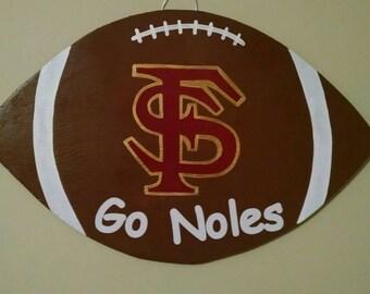 Florida State Football Door Hanger
