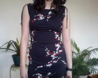 Fitted 90s Mini Dress // M