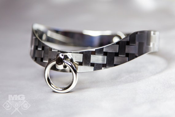 collar story of o neck corset choker stainless steel ring