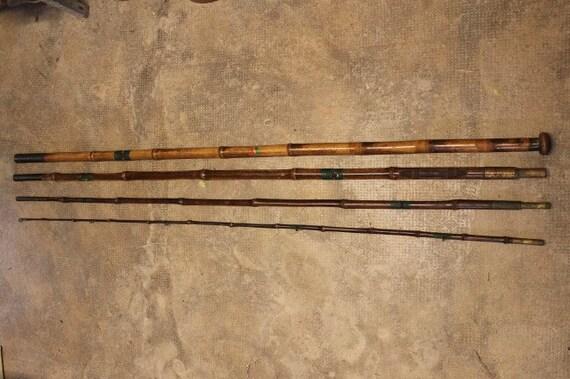 Canne A Peche Japonaise En Bambou