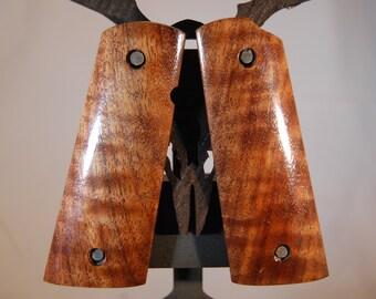 Black Walnut 1911 Full size Grips (G1)