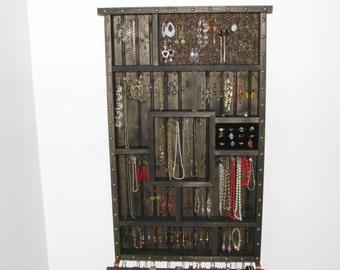 Necklace Storage and Jewelry Organizer