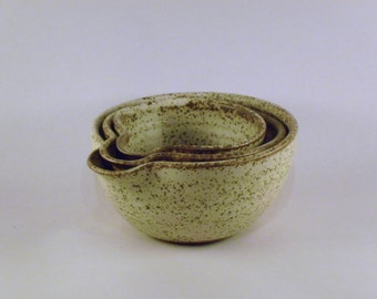 Small Pouring Bowls - Set of 3