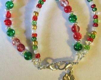 Medical-Replacement-Bracelet-Medical-Alert-ID-Bracelet-Double-Strand-Christmas