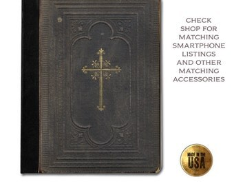 Worn grunge cross Bible vintage cover tablet case (ipad 2 3 4, air, mini, Kindle Fire, paperwhite, nook, nexus)