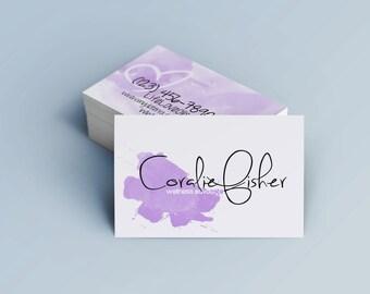 Handwritten Business Cards
