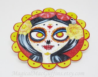 Book of Life Movie Day of the Dead La Muerte Pin