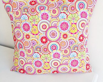CLEARANCE Pinwheel pillow cover