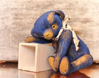 SALE! New price with sale 15% (old price 120 eur)__Gelian  (ooak author teddy bear, artist teddy bear, vintage bear)