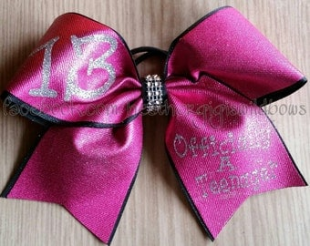 Cheer Hair Bow - 13th Birthday