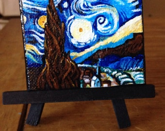 Starry Night, a Tiny Tribute to Vincent Van Gogh