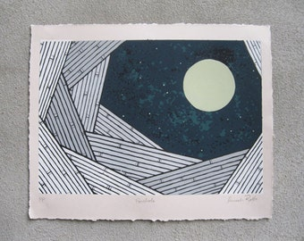 Porthole: 8 Color Screenprint