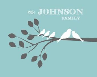 Custom Family Branch Print